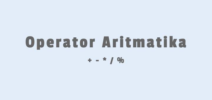Operator-Aritmatika