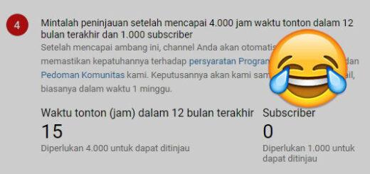Perubahan Persyaratan Monetisasi YouTube