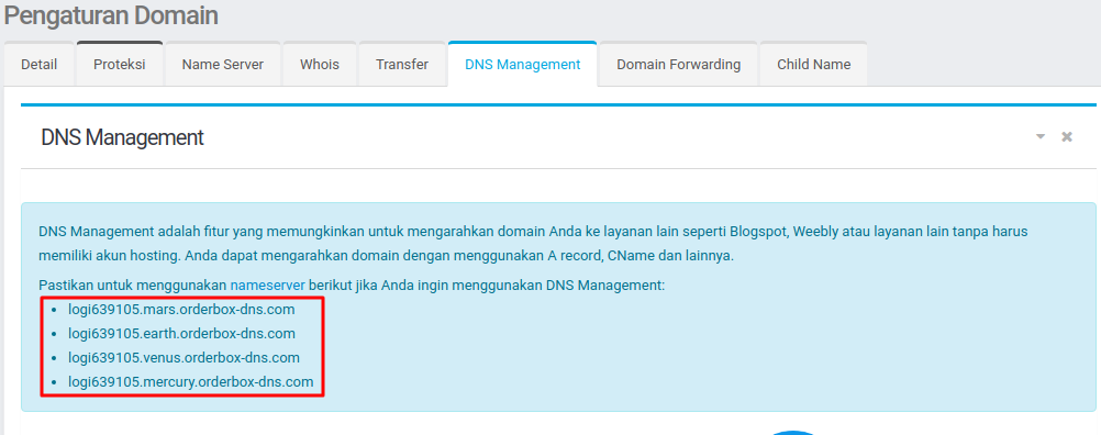 Custom Domain Blogspot di Niagahoster - Domain Management