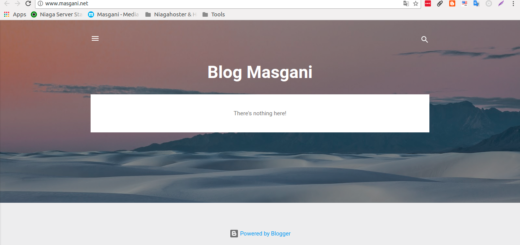 Custom Domain Blogspot Di Niagahoster