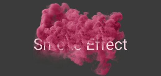 Cara menggunakan aplikasi smoke effect