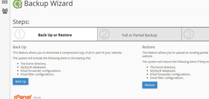 Memindahkan File Backup Antar cPanel