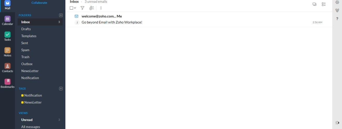 Cara Menghubungkan domain ke zoho mail