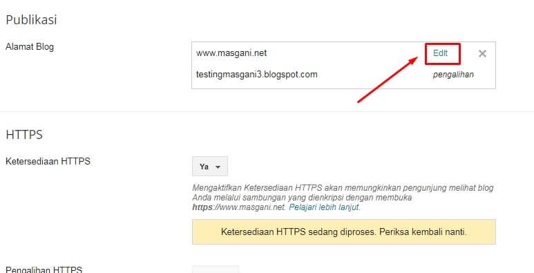 edit customa domain