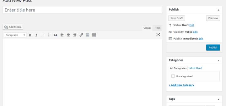 cara mengembalikan editor wordpress ke versi lama