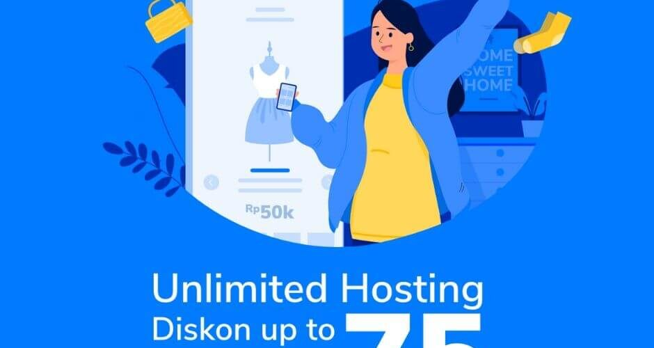 Promo niagahoster hosting murah unlimited