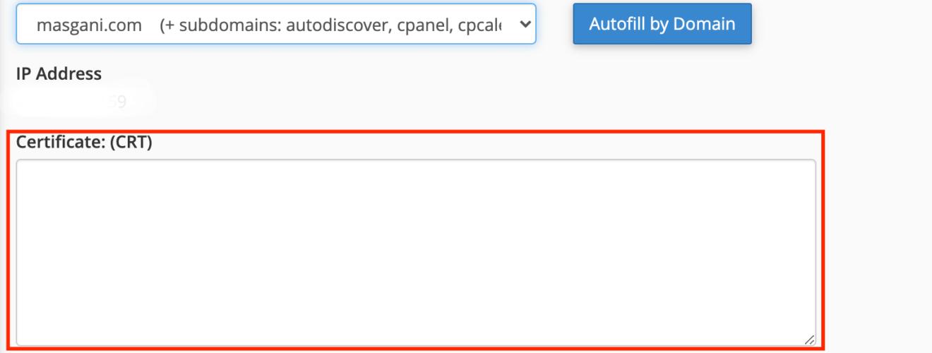 install ssl cloudflare di cpanel